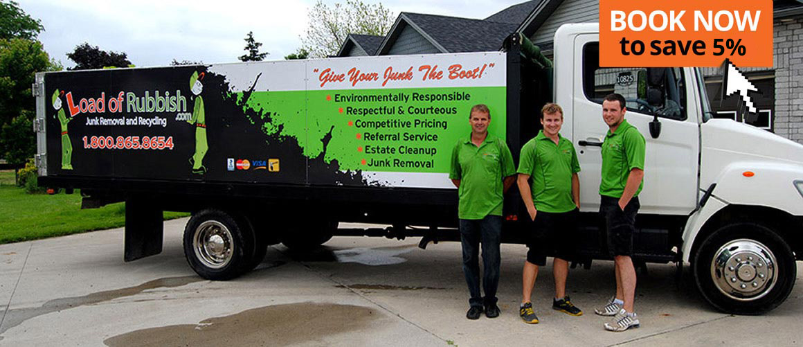 Junk Removal Service For London Ontario Garbage Yard Cleanup Load Of Rubbish