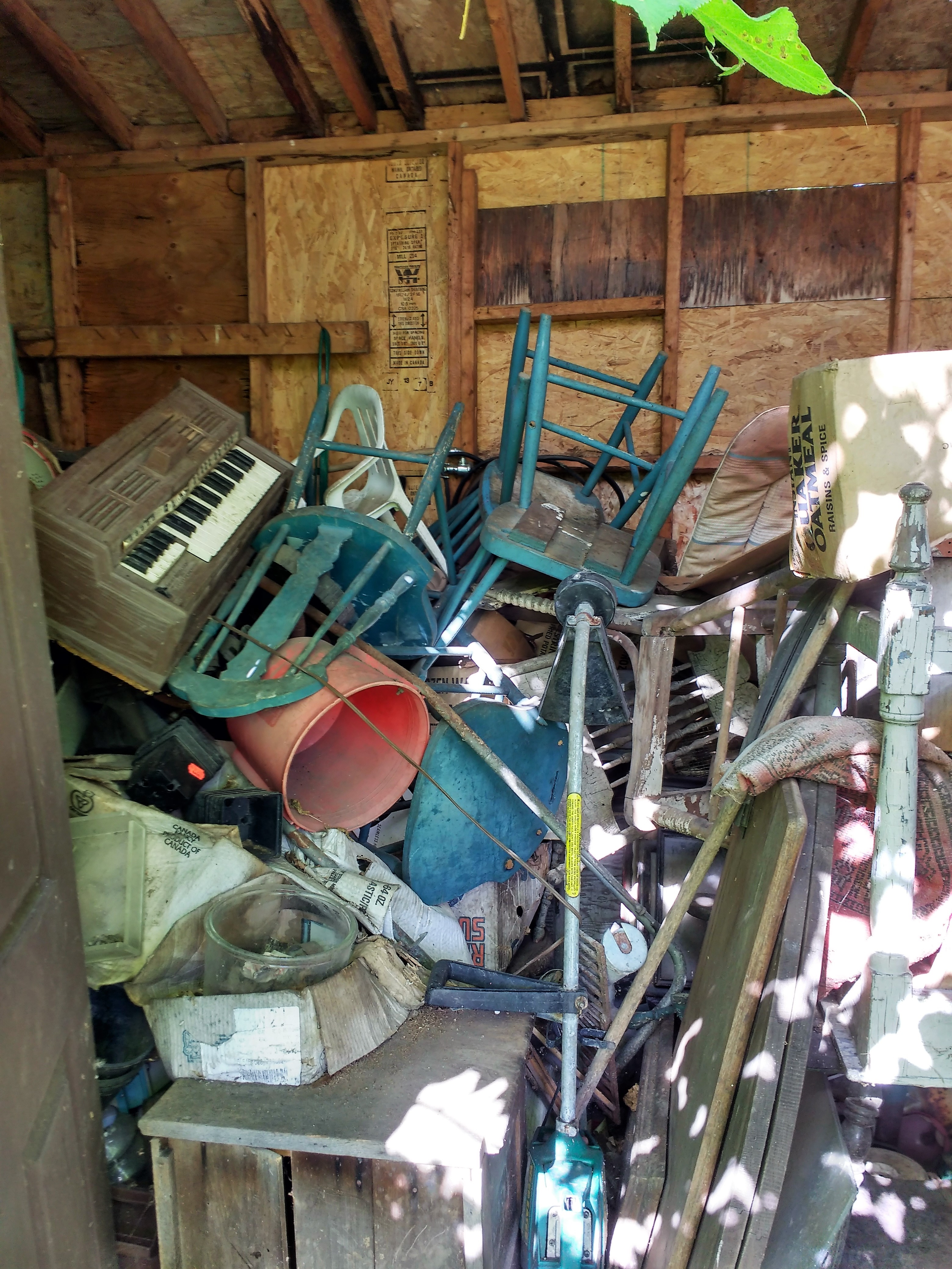 Hoarding is a psychological disorder characterized by an inability to throw things away or the obsession with continuously acquiring things.