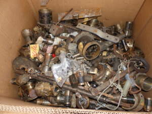 Scrap metal retains value in the hands of metal recyclers